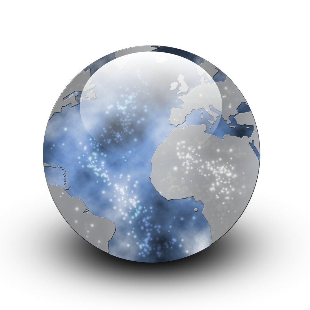 earth orb icon png