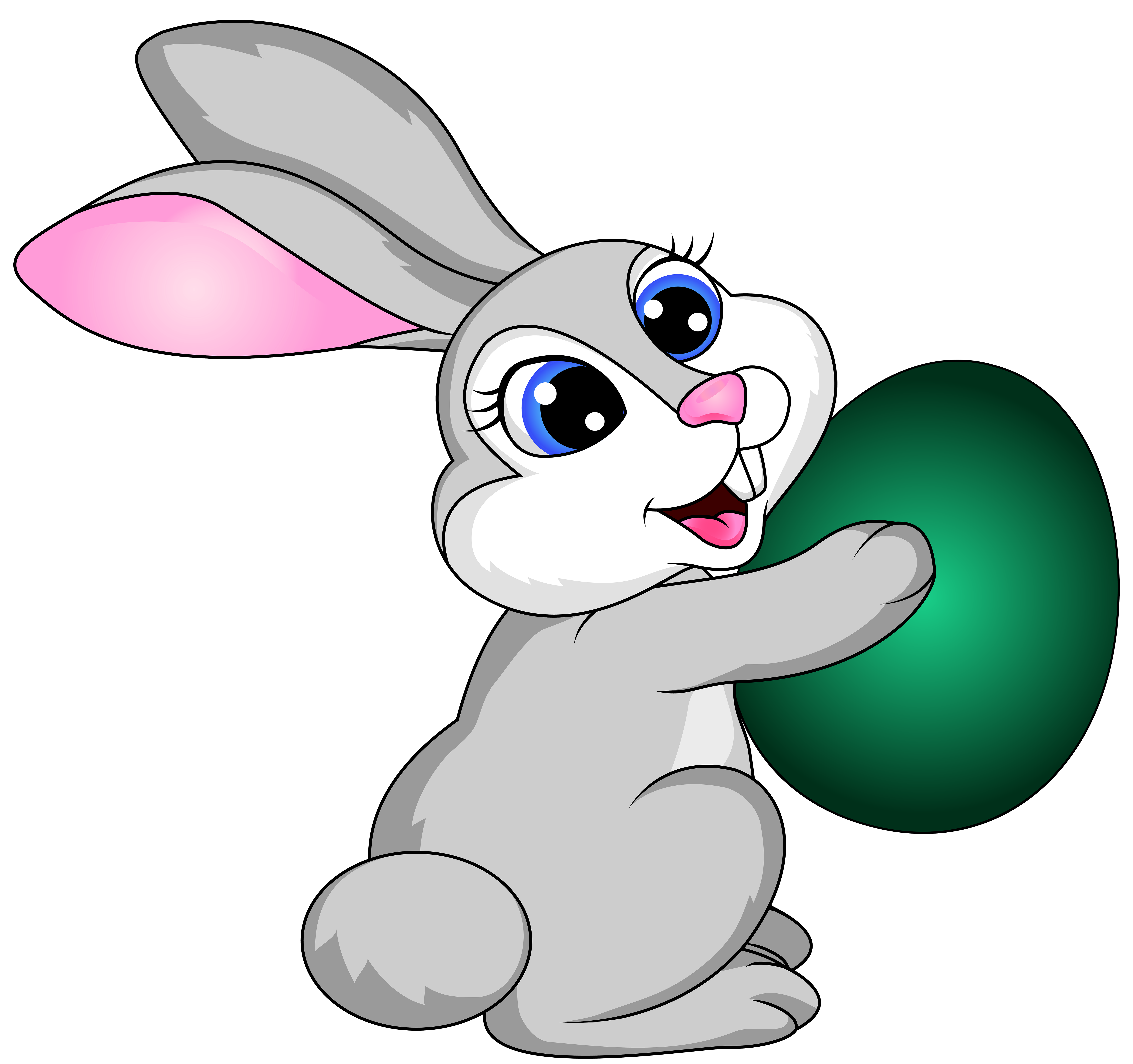 Easter Bunny Clipart Png image #46574