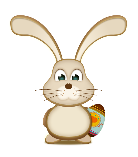 Easter Bunny PNG Photo image #46580