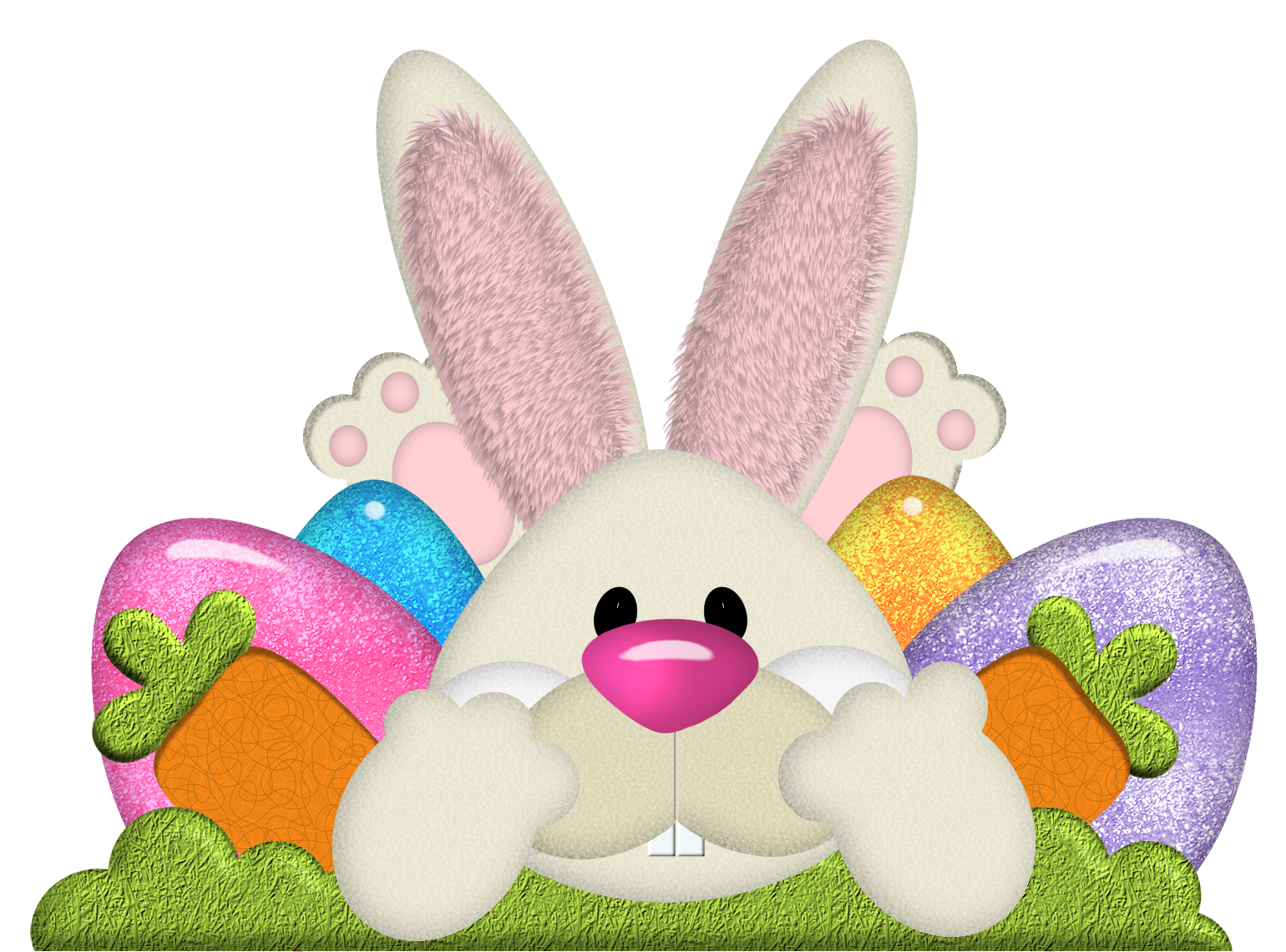 Easter Bunny Transparent PNG image #46576