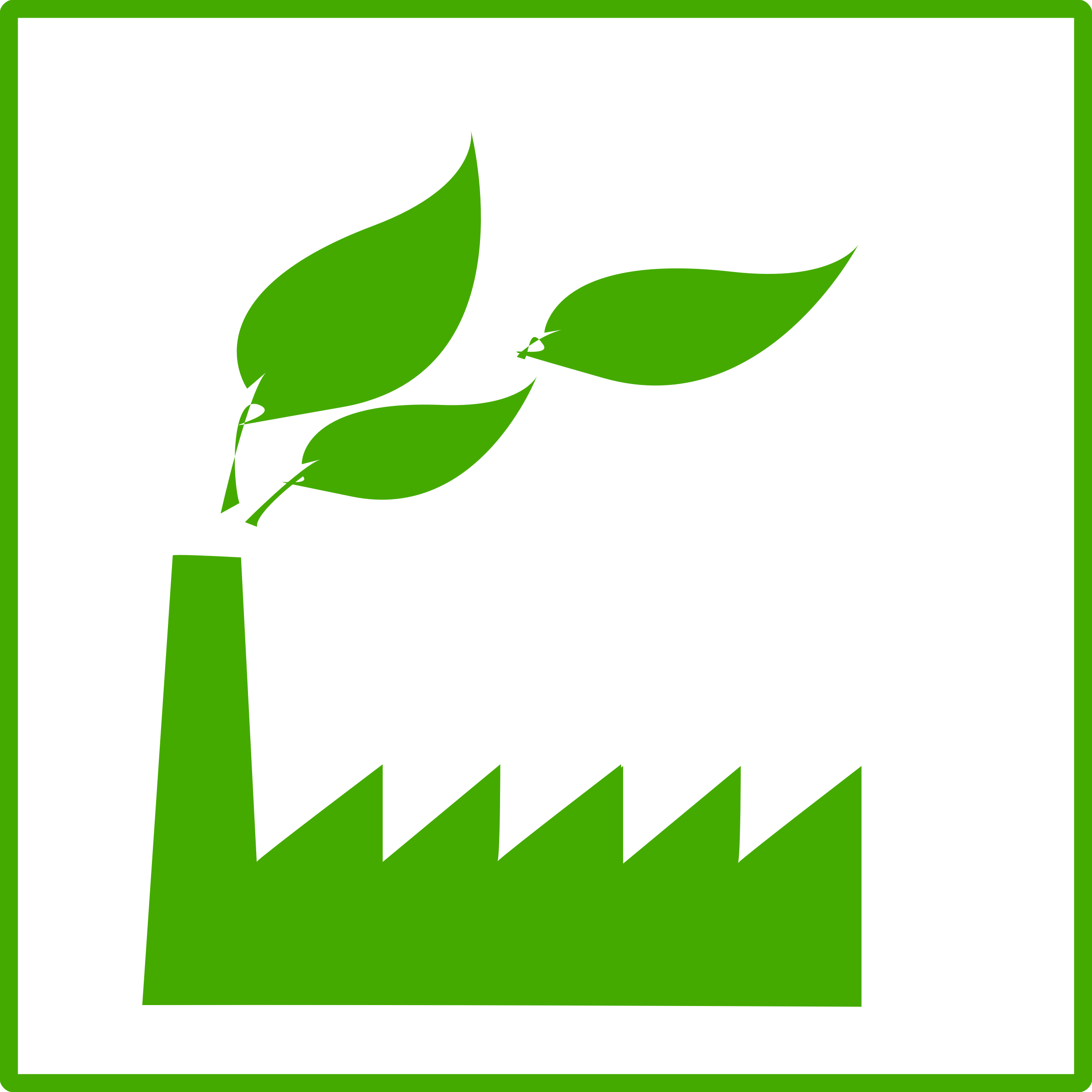 eco green factory icon