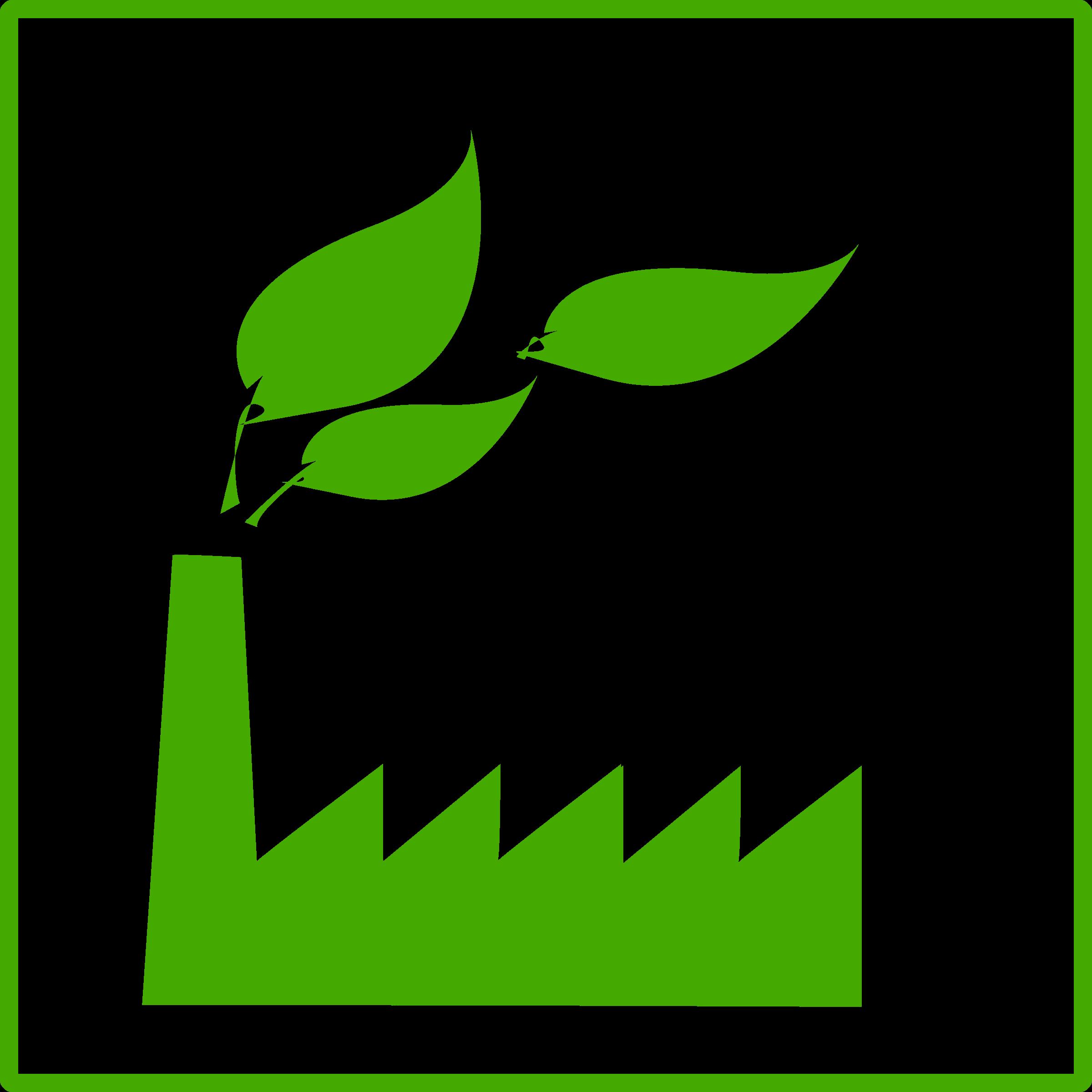 Eco Green Factory Icon image #1228
