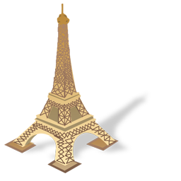 Eiffel Tower Icon image #25710