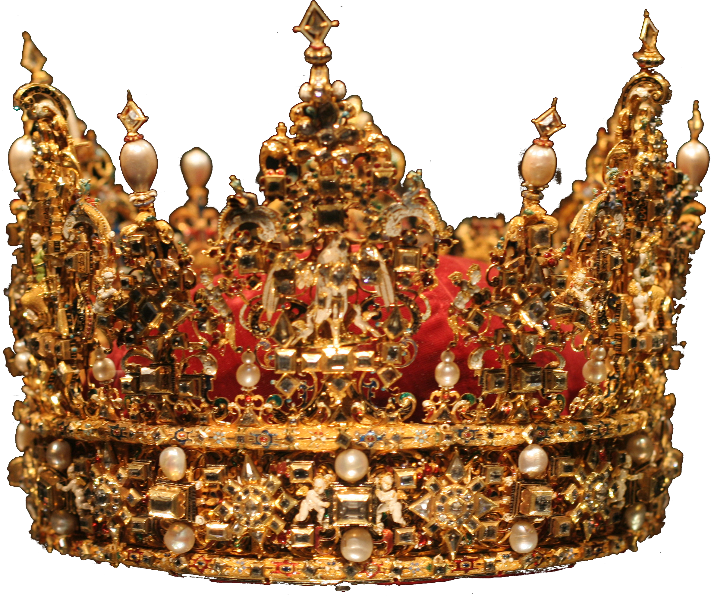 Elegant Real Crown Png image #29921