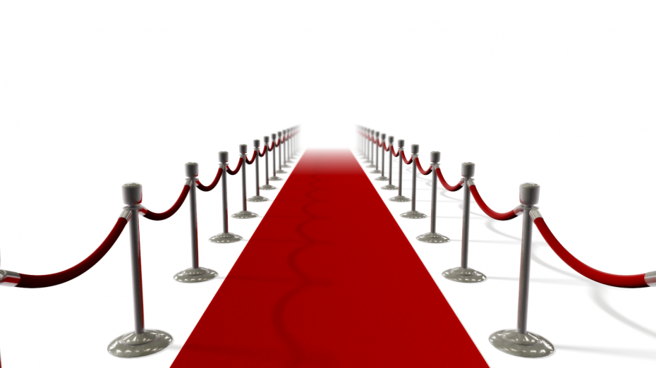 Elegant Red Carpet PNG image #37037