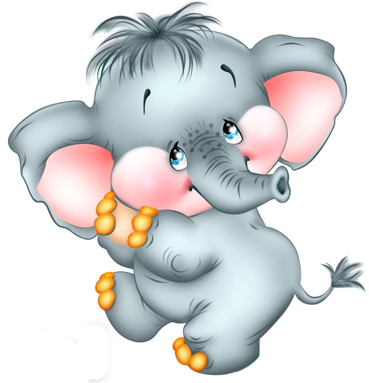 Elephant Cartoon Png Clipart image #31573