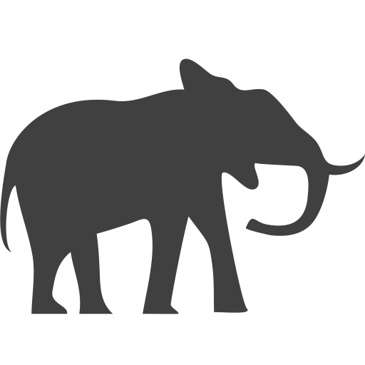 Elephant Simple Png image #11589