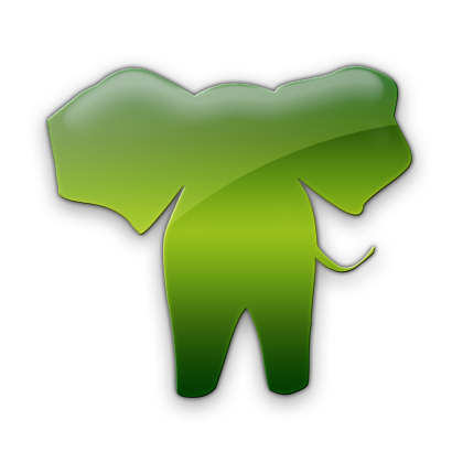 Elephant Symbol Icon 420x420, Elephant HD PNG Download