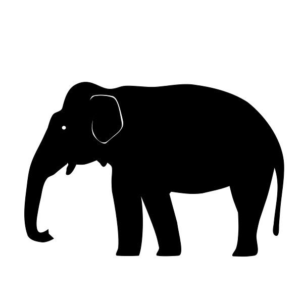 Icon Elephant Svg