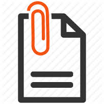Free Email Attachment Icon Image image #11184