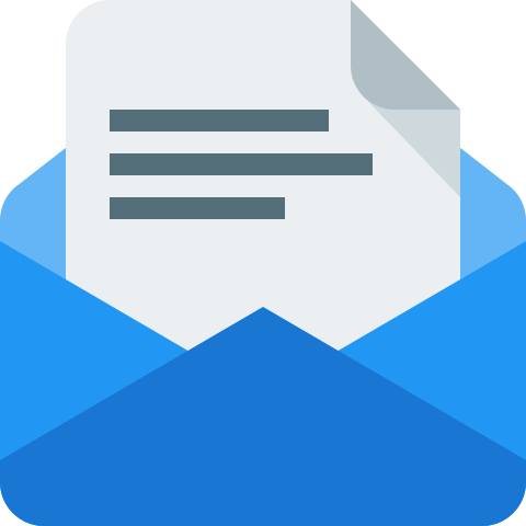 Email Document Icon image #36563