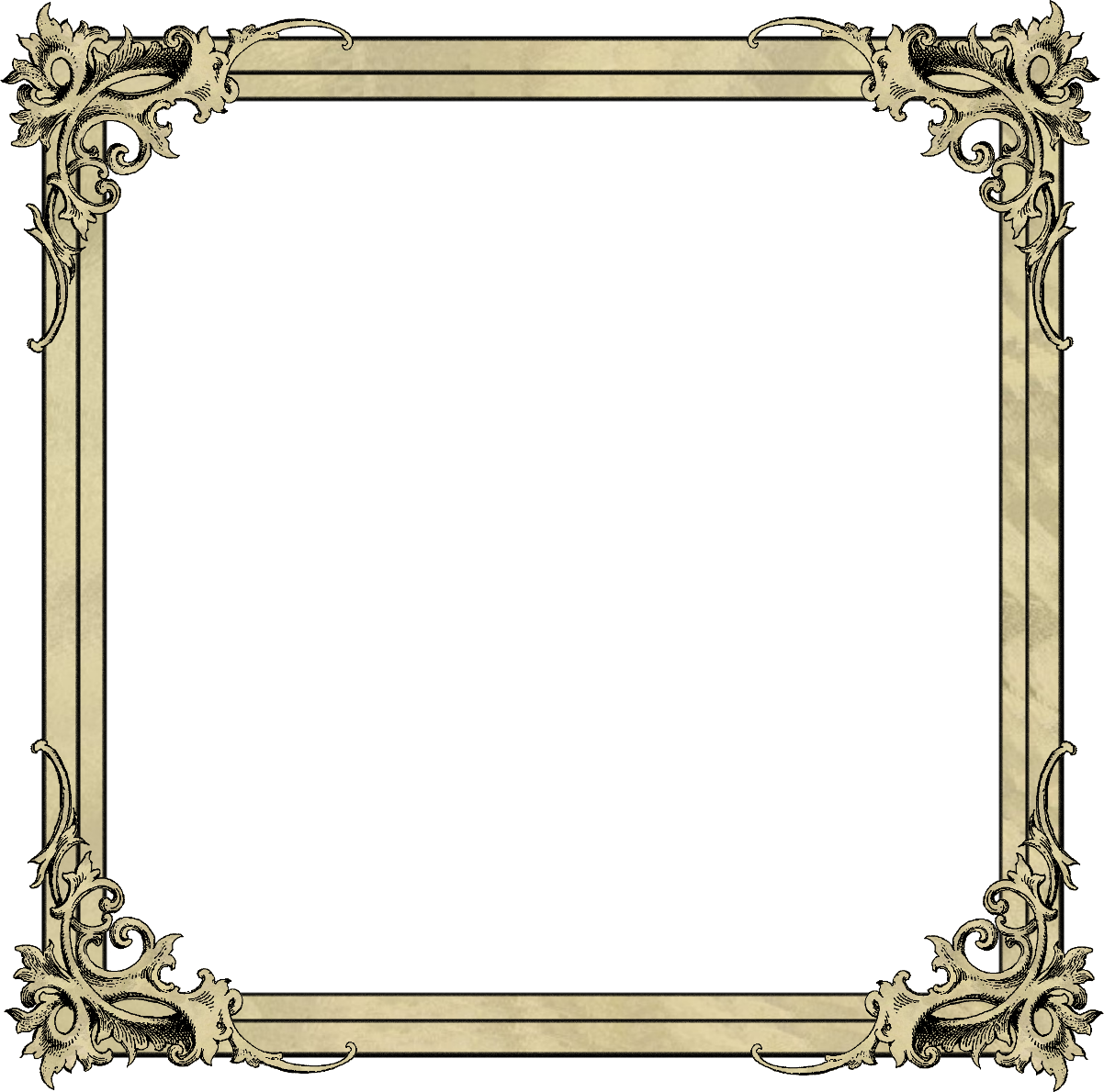 Empty Frame Png image #24583