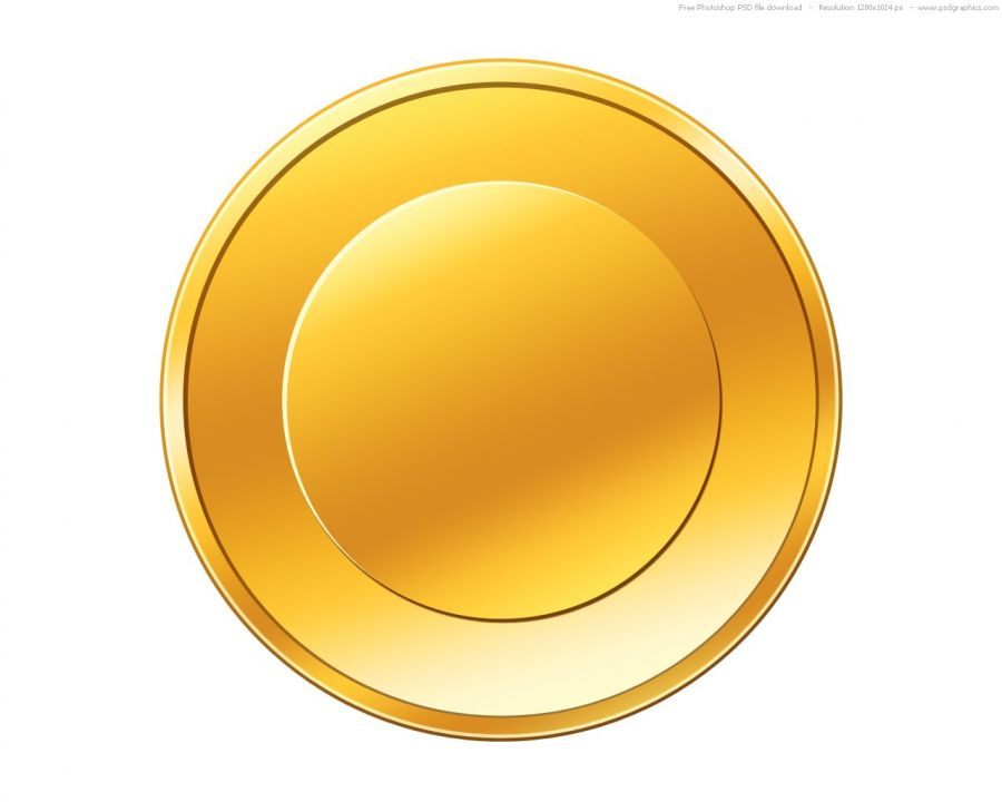 Empty Gold Coin Icon