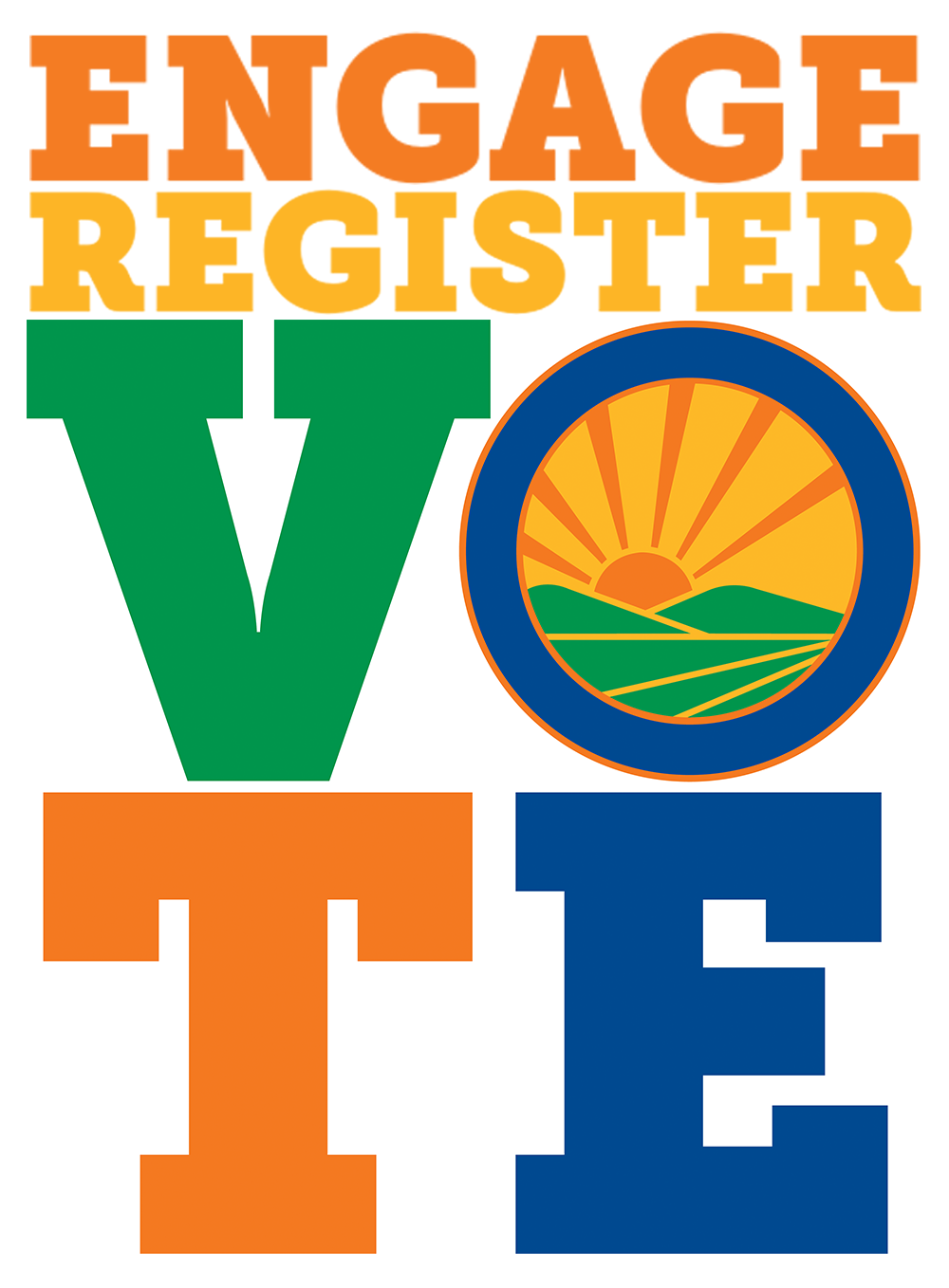 Engage Register To download register to vote PNG images