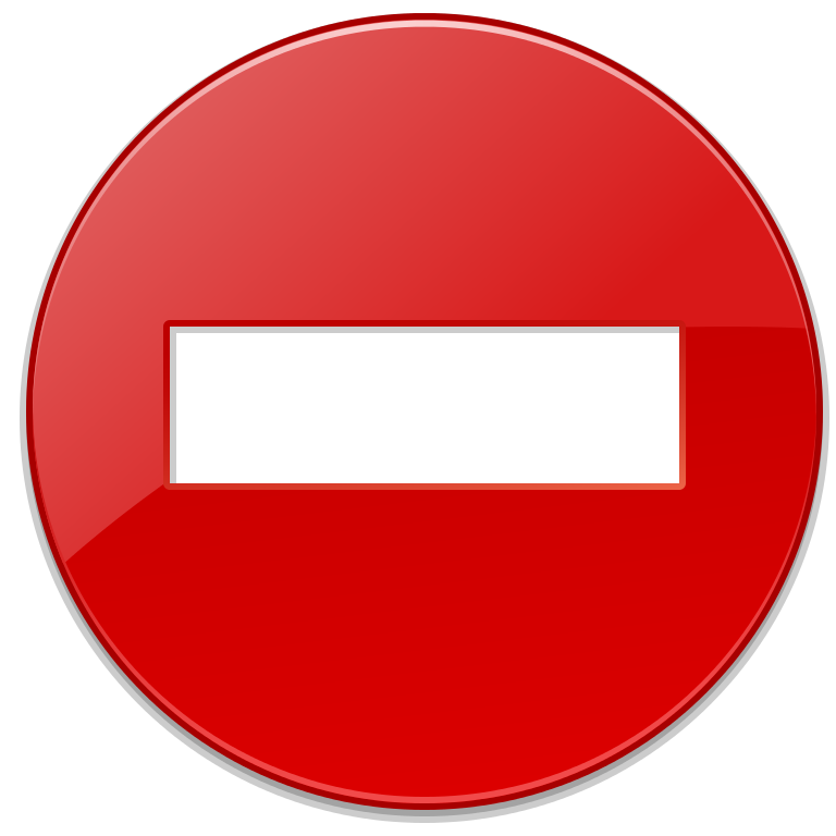 Error Round Red Minus Sign PNG Images image #48253
