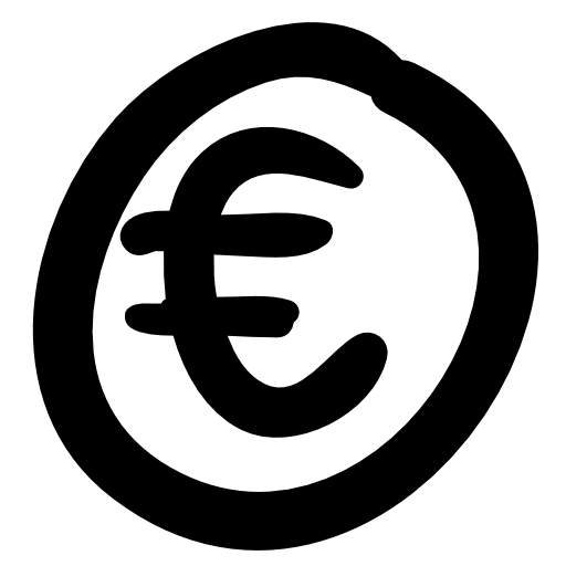 Euro Currency Symbol Icon 36354 Free Icons And Png Backgrounds