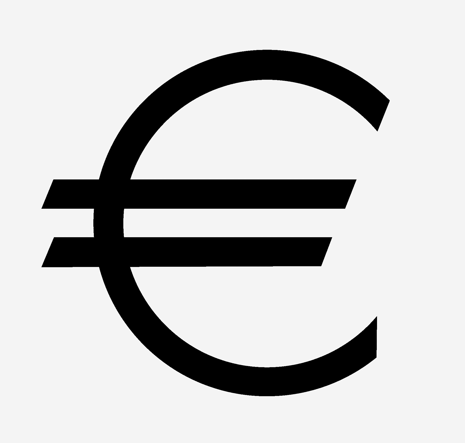 Png Euro Icon image #10363