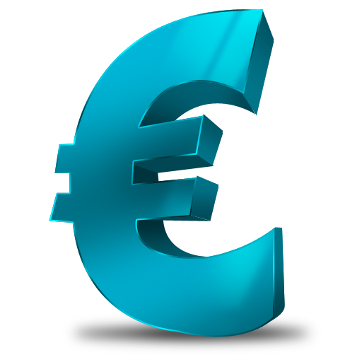 Transparent Euro Icon image #10353