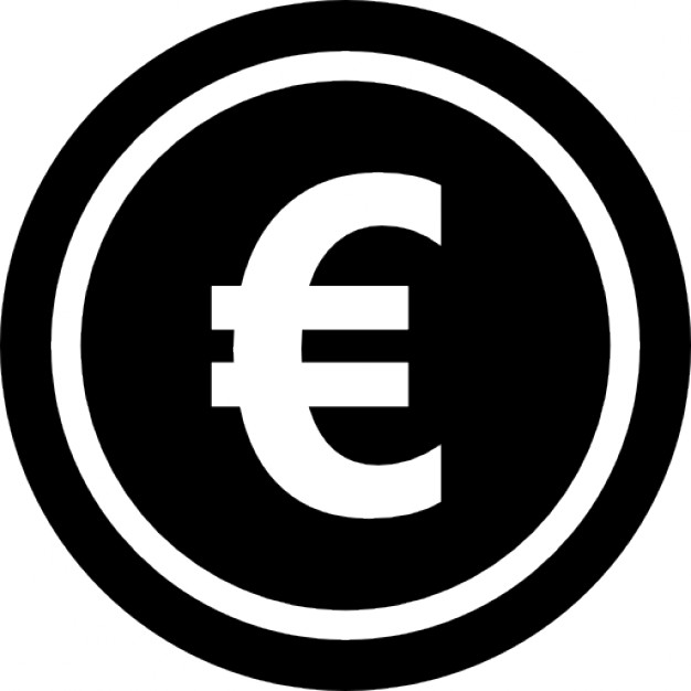 Euro Symbol Icons Png Vector Free Icons And Png Backgrounds
