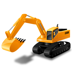 High quality Download Excavator Png