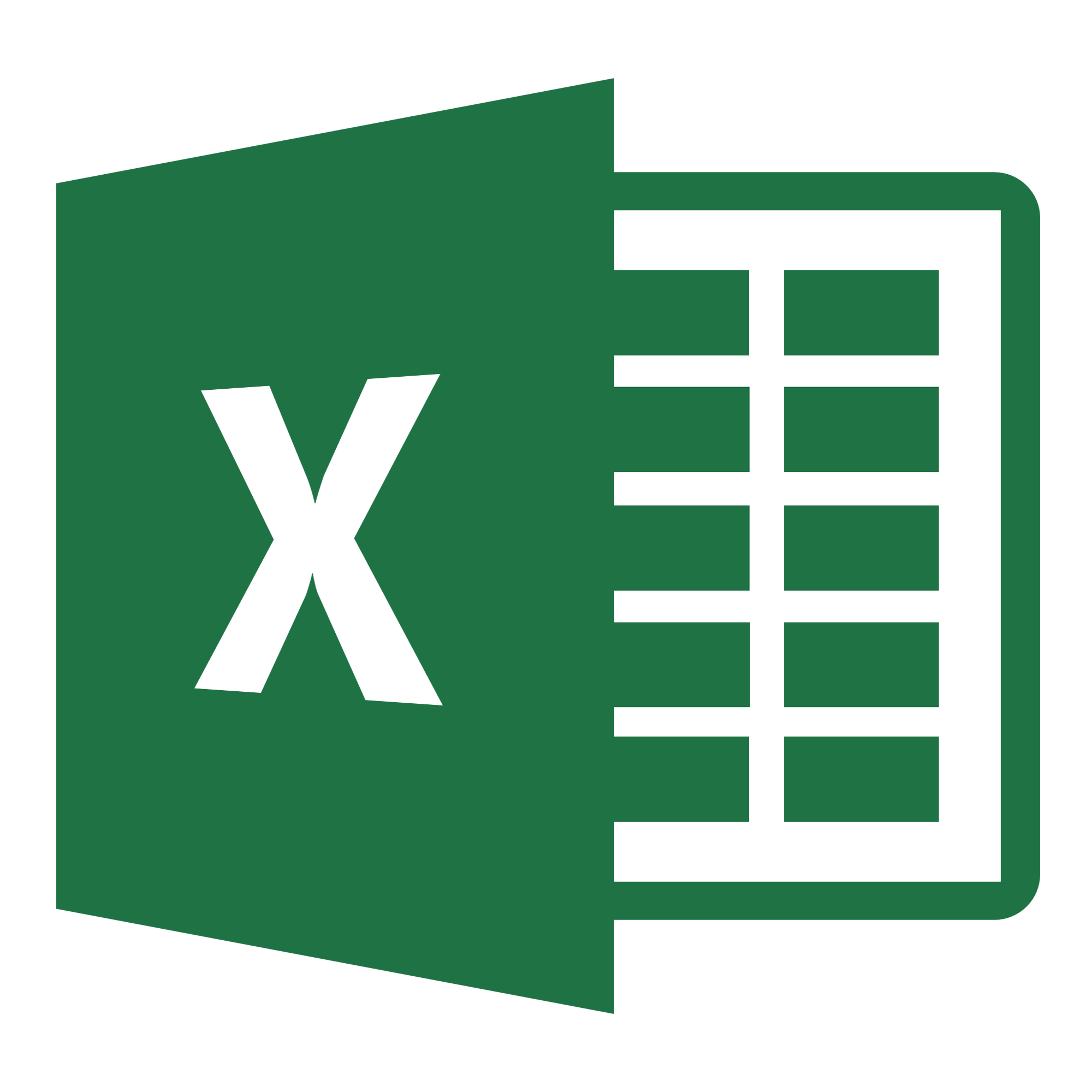 Excel Png Office Xlsx Icon image #3379