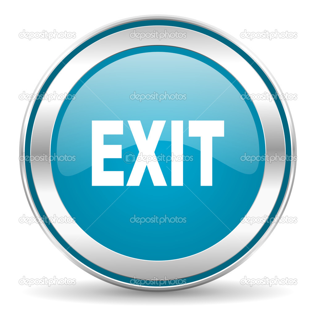 Exit Download Ico image #4617