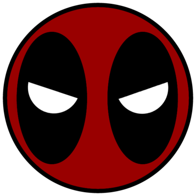 Face Deadpool Icon Png image #6861