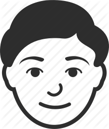 Transparent Icon Face Head Man image #22092