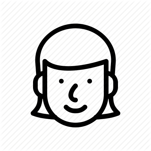 Download Face Head Woman Png Icons image #22107