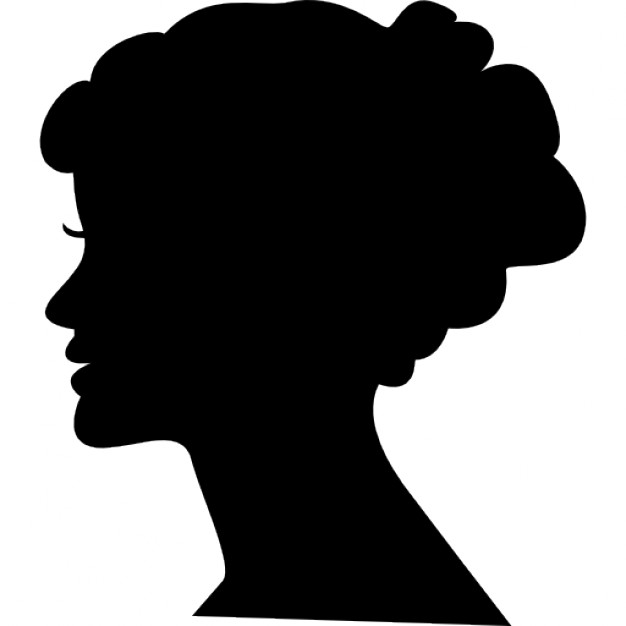 Vector Icon Face Head Woman image #22109