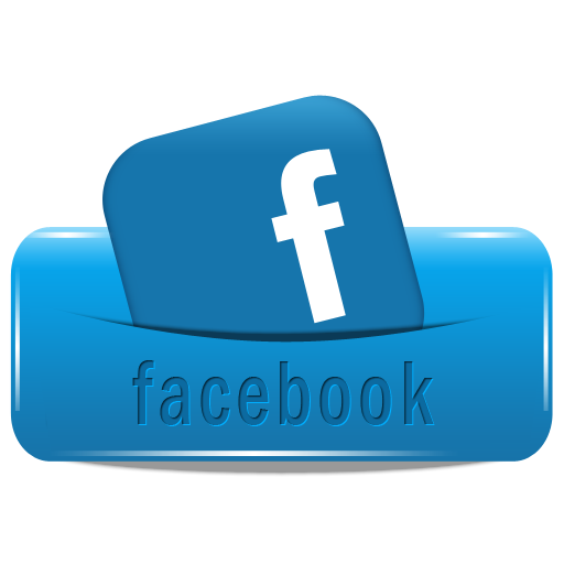 Facebook Button Follow social media