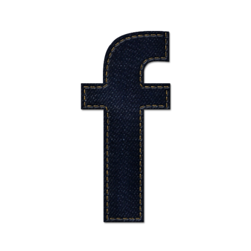 Black F Alphabet Icon Facebook Logo image #769