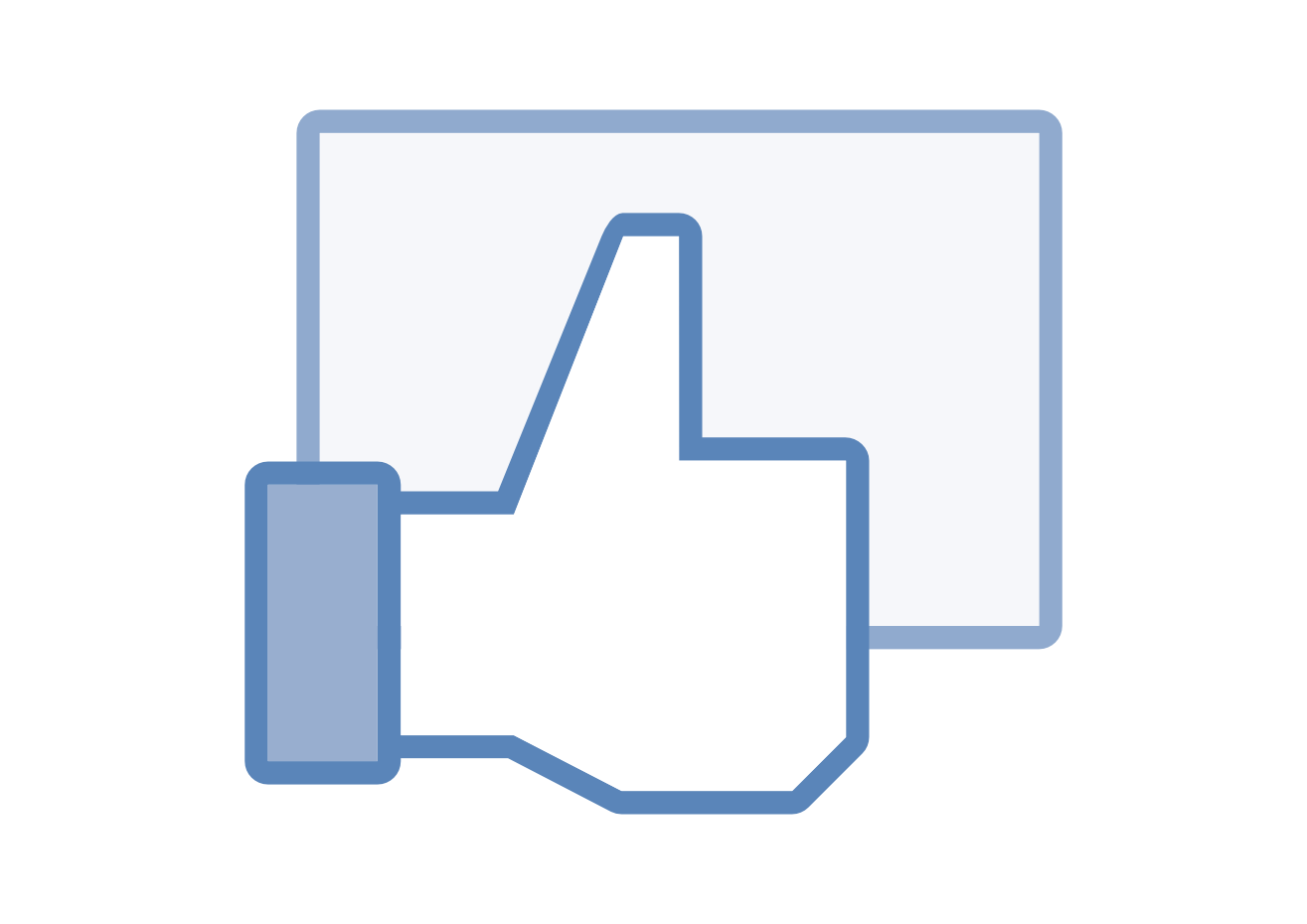 Facebook Like Icon Png image #4162