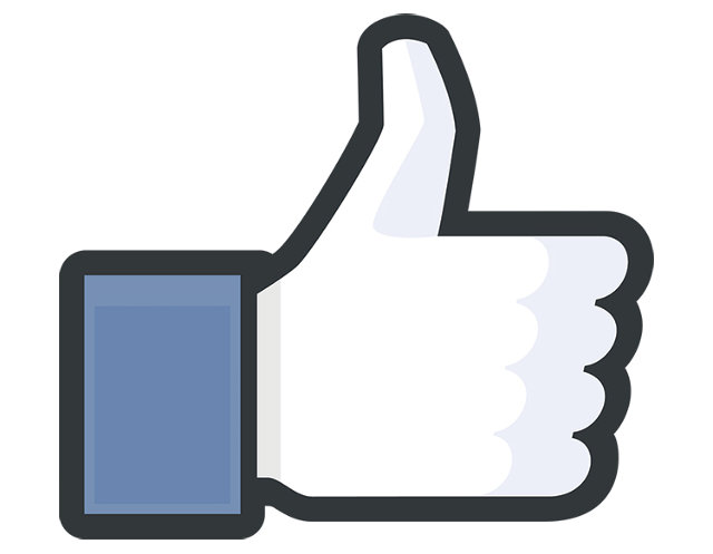 Facebook Like Thumbs Up Symbol image #31158