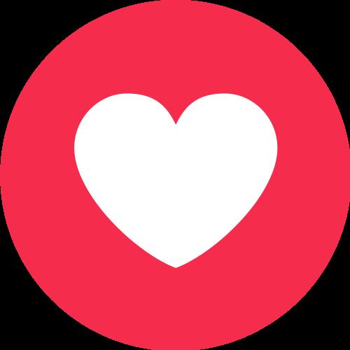 Facebook Live, Love png