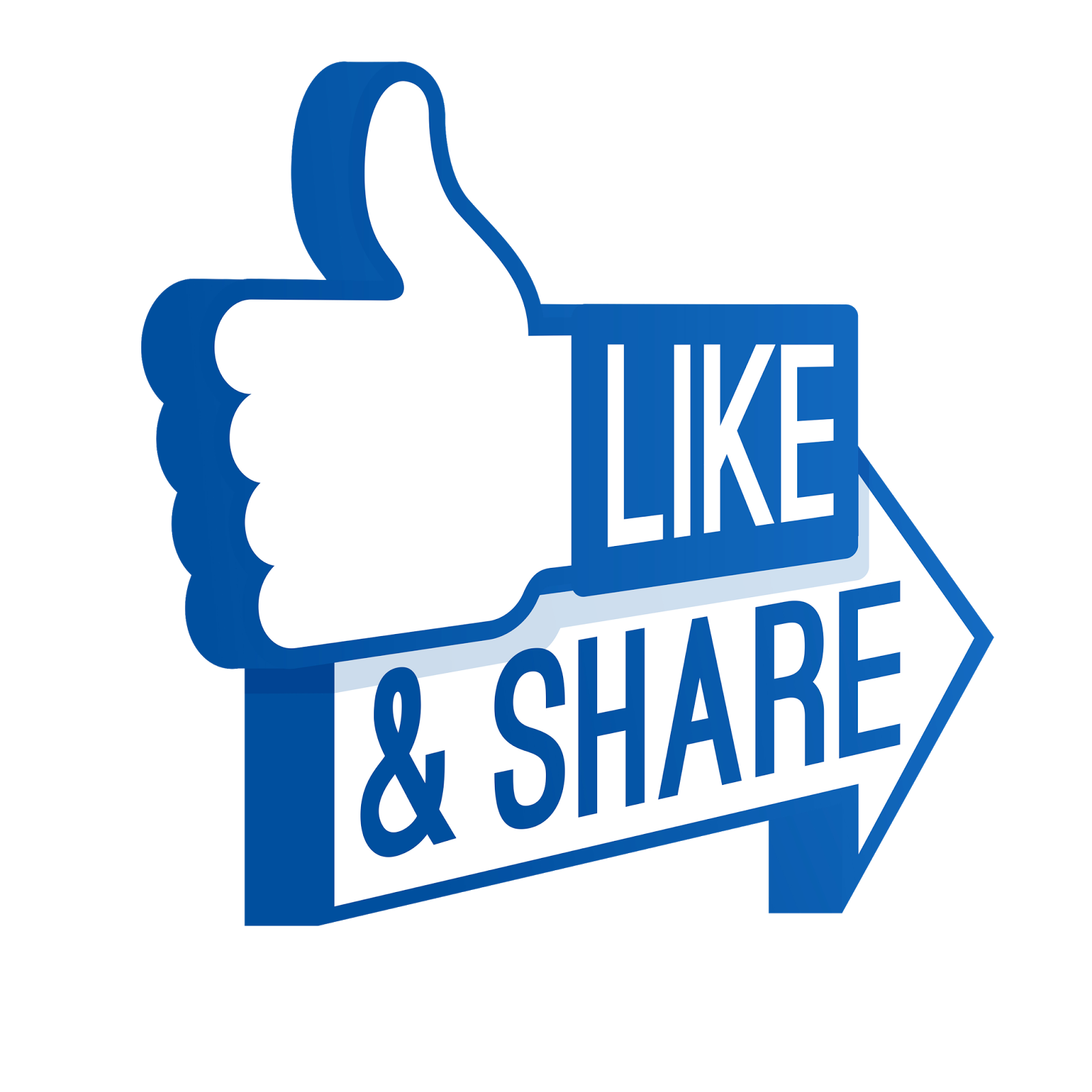 Facebook Logo Like Share Png image #4179