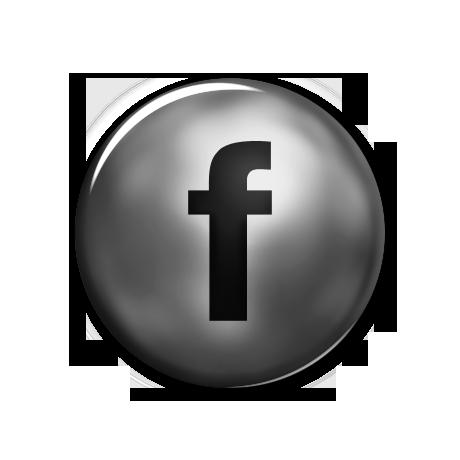 FACEBOOK LOGO PNG BLACK image
