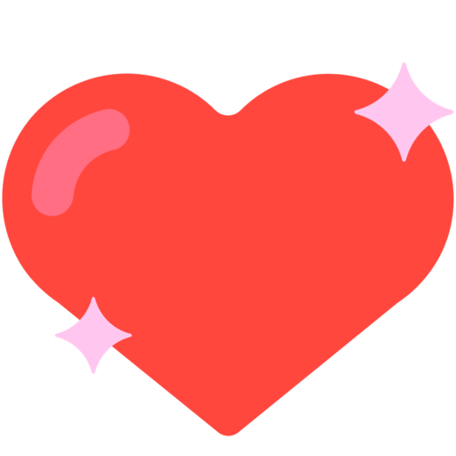 facebook love stars png