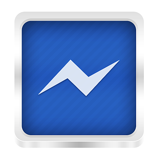 Icon Symbol Facebook Messenger image #11620