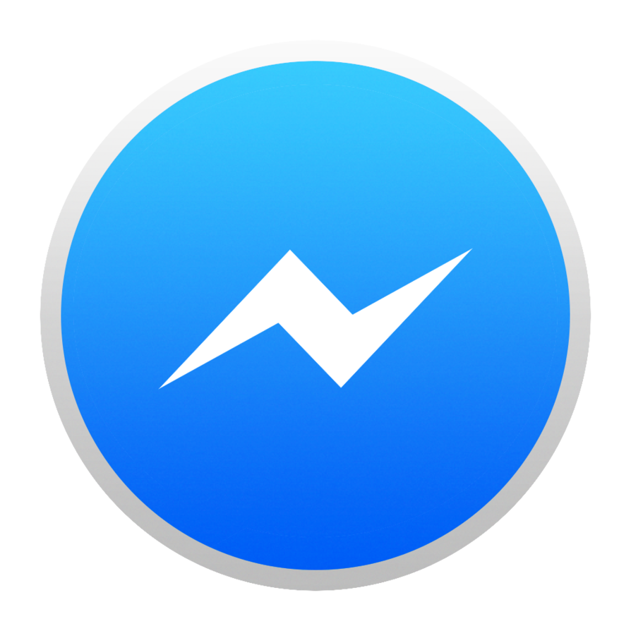 Vector Icon Facebook Messenger