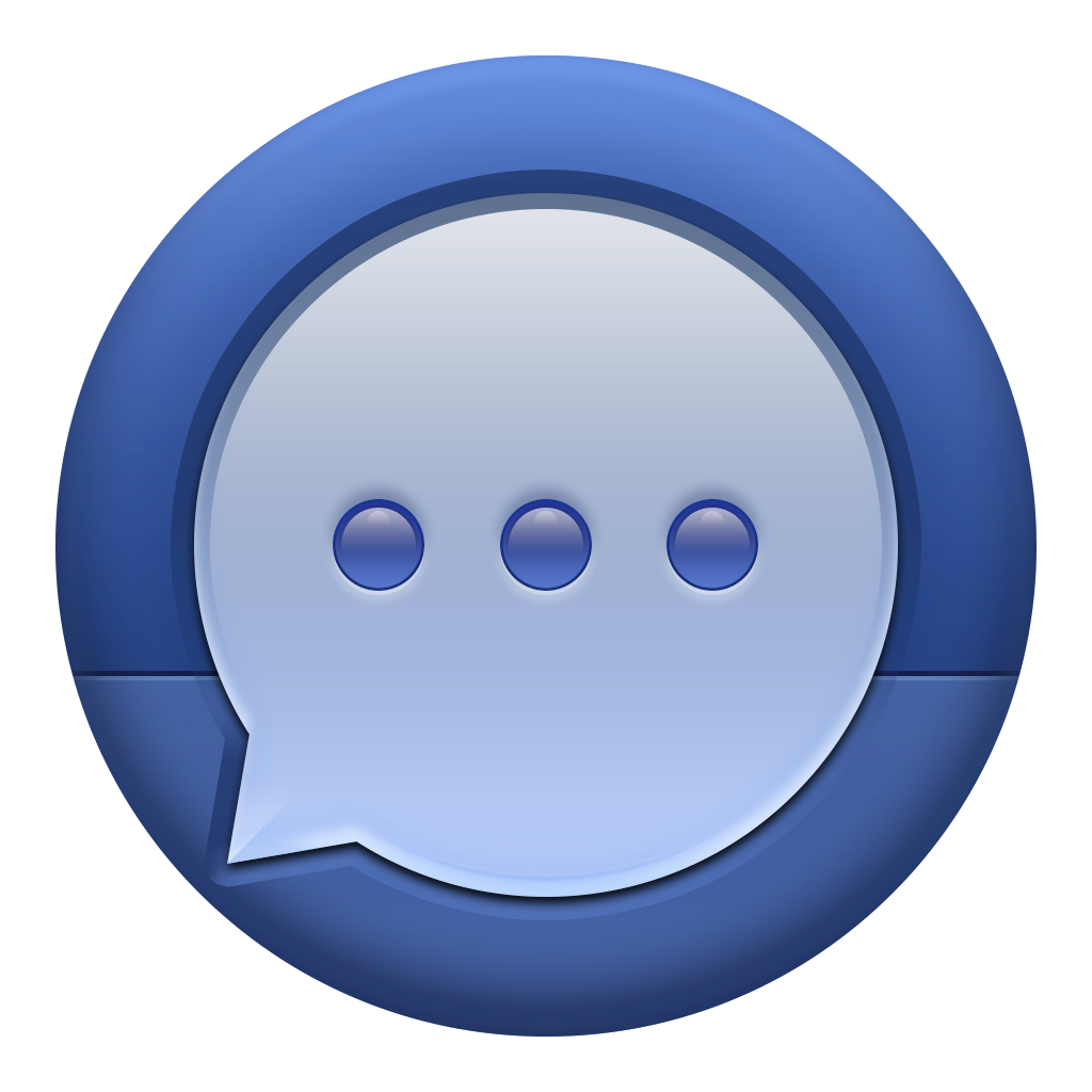 Facebook Messenger Icon Png image #11627