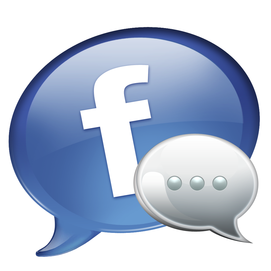 Image result for facebook chat  icon