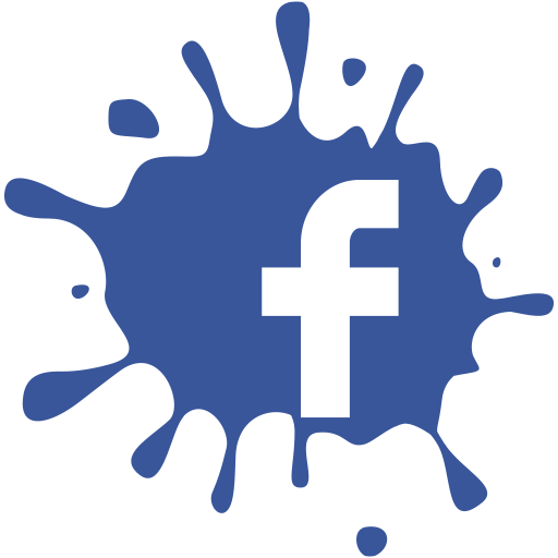 Facebook Splat F Logo Transparent image #38369