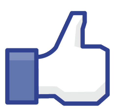 facebook thumbs up transparent