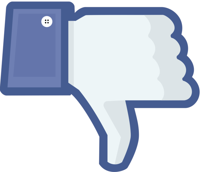 Facebook, Youtube Dislike Clipart Pictures image #45955