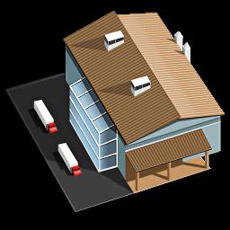 Factory Icon | 3D House Iconset | Seanaum image #1238