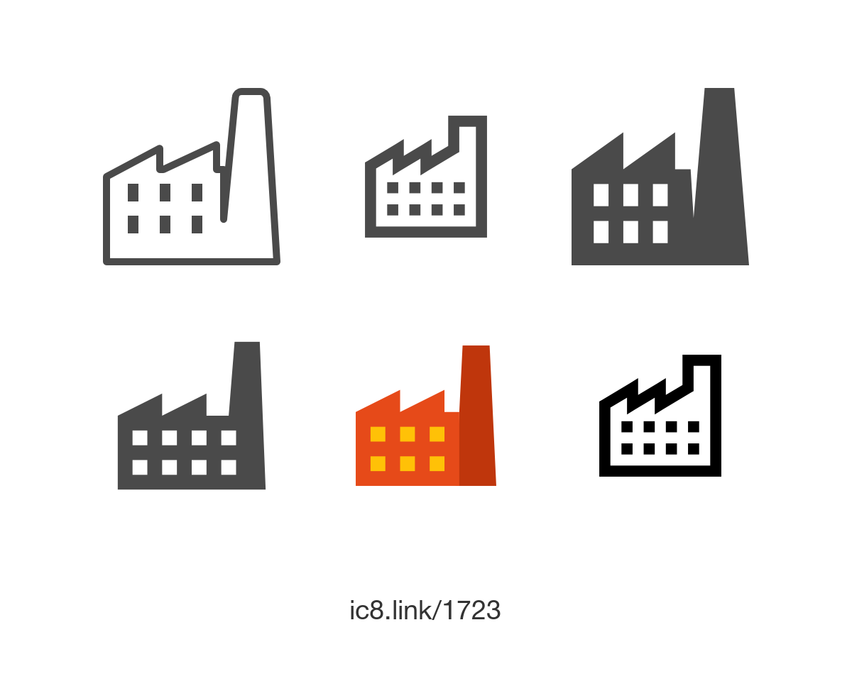 Factory Icon   Free Download At Icons8 image #1246
