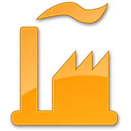 Factory Yellow 2 Icon | Points Of Interest image #1224
