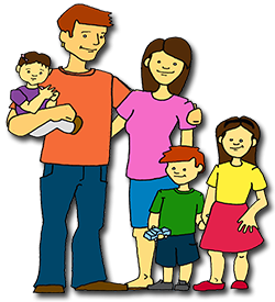 Family Png Clip Art image #40063