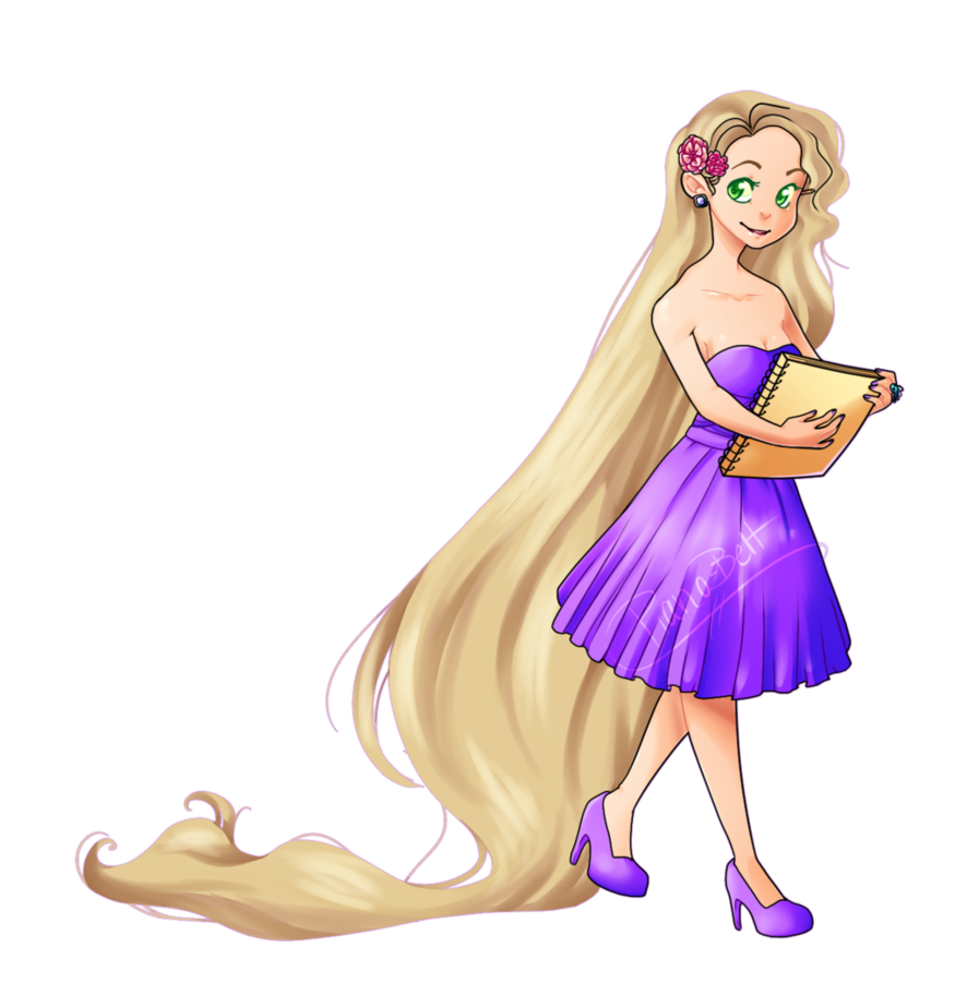 Fashion rapunzel png